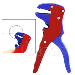Wholesale Wire Strippers Crimper - Free shipping Hot Sale Automatic Self Adjusting Cable Wire Stripper Crimper Stripping Cutter-Y107