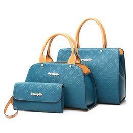 Lash Package Women Designers Handbags BUY 1 GET 2 FREE Mulit 4 Colors Totes  3Pcs Lot PU Leather Bags