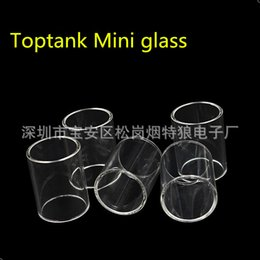 topbox mini glass Coupons - Top Quality Replacement Toptank Mini Pyrex Glass Tube for Kanger Toptank Mini Nano Atomizer Topbox Mini Subvod Mega TC Kits Free Shipping