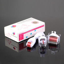 Wholesale Derma Needle Kit - New products on market micro needle derma roller 3 in 1 kits