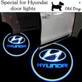Wholesale Logo Welcome Led Toyota - 2pcs Ghost Shadow Light Welcome Laser Projector Lights LED Car Logo For Toyota Honda Mazda Mitsubishi Nissan Ford Hyundai