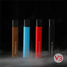 Wholesale Pen Pod - 100% Original Sigelei Fuchai V3 Starter Kit 400mAh Vaporizer Vape Pen For Authentic V3 Tank Vs JUUL V2.0 Pods 2207062