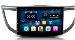 Crv bluetooth online-10,2 Android 6.0 Auto DVD Gps Navi Audio für HONDA CRV 2012-2014 1024 * 600 OBD 1 GB Wifi 3G 4G Unterstützung Original Lenkrad