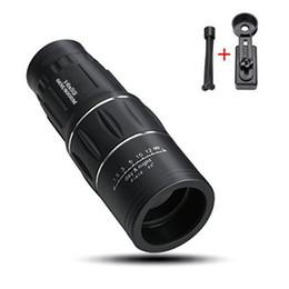 Kolay Çekim Ile 16x52 Yürüyüş Konser Kamera Lens Teleskop Monoküler Smartphone Için / Hiçbir Tutucu Smartphone Ücretsiz Kargo DHL nereden