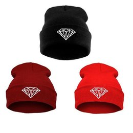 da6dbfae828 diamond gold beanie Coupons - Promotion! hats 2015 New Arrival Fashion  Brand DIAMOND Beanie Hat