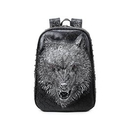 Wholesale Backpack Unique - 3D Unique originality of rivets unique anti-theft womens backpacks for school cute backpacks with laptop compartment