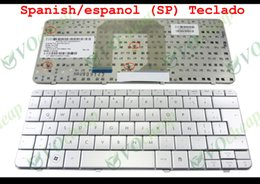 Wholesale Hp Teclado - New Laptop keyboard for HP Pavilion DM1 FOR Compaq mini 311 Silver Latin American similar espanol SP TECLADO - 580954-161