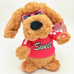 funny dance sing shook his head snowballing usury electric ear dog plush toys uk