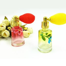 Wholesale Glass Perfume Bottles For Sale - Refillable Empty Perfume Bottle 10ml Gasbag Glass Perfume Sprayer Bottle Travel Makeup Containers for Sale DC747