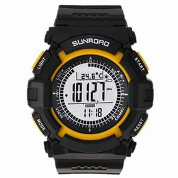 Wholesale Sport Watch Unisex Compass - Sunroad FR820A Multifunction Waterproof Outdoor Sports Military Watch Altimeter Compass Stopwatch Fishing Barometer Pedometer order<$18no tr