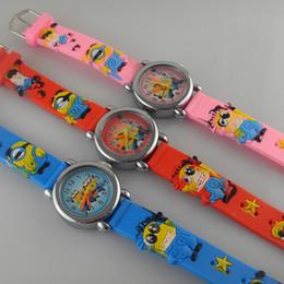 Wholesale Despicable Men - 24 Modles Frozen Despicable Me Spider-Man Watches boys Girls Kid Childrens Watch quartz wrist colored watches factory sample order