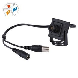 Wholesale Pinhole Hot Videos - Hot Sale Cmos Pinhole 650TVL Analog Wired Mini Hidden Cctv Security Camera color 3.6mm lens Video Surveillance Security Camera