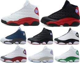 Wholesale Man Online Games - Air Retro 13 XIII men women Casual shoes red Bred He Got Game Black Casual shoes Online Sale