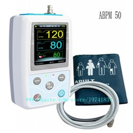 Wholesale Blood Pressure 24 Hours - CONTEC CE&FDA ABPM50 24 hours Ambulatory Blood Pressure Monitor+ free software + 3 CUFF easy operation Compact and portable