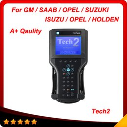 Wholesale Suzuki Tech2 - 2015 Super scanner A+ quality GM Tech2 for GM, Opel, SAAB, Suzuki, Isuzu and Honden 6 software Best price DHL free shipping