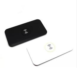tapete do carregador qi Desconto Power Qi Carregador Sem Fio Carregamento Mat Pad para Samsung Galaxy S6 S7 Borda com Caixa De Varejo