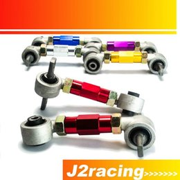 Wholesale Camber Kits - J2 RACING STORE- Rear Camber KiT FOR HONDA ACURA CIVIC INTEGRA CRX REAR CAMBER ARM KIT EG EK DC2 EF PQY9851