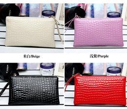 Wholesale Changing Bag Designer - Women Wallets Leather Wallet Women Clutch Female Brand Magic Wallet Designer Wallet Change Purse Clutch Purses Handbag Phone Bag for iphone