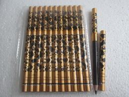 Wholesale Brown Brow Set Wholesale - 12pcs set Double End Eyeliner Eyebrow Pencil Waterproof Eye Brow Pencil & Brush Makeup Eyebrow Enhancers black Brown 2Colors Pen