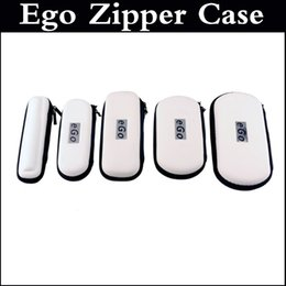 Wholesale Ego Leather Carrying Case - E cig bag for ego e-cig case E cig bag electronic cigarette Zipper Carry Case for CE4 atomizer CE5 clearomizer EVOD ego twist single kit
