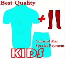 Wholesale soccer jersey customized yellow - 2018 customize kids shirt adult jerseys jacket tracksuit Fast payment Link
