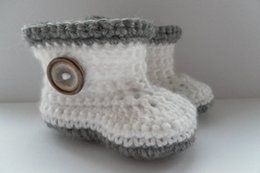 Wholesale White Tall Boots Wholesale - 2015 Comfortable Fashion Cute Baby Girls Woolen Warm White and grey Handmade Knit High-top Tall Boots Shoes 0-12M custom