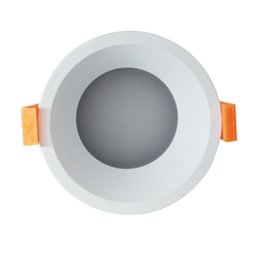 Wholesale Cool Bathrooms Design - outline 90mm Round Small glare free led downlight cut hole 70mm 5w 6w 7w 8w 9w 10w frosted cover+deeply light source design