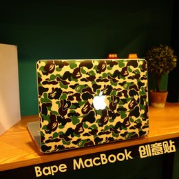 "Wholesale Vinyl Sticker Macbook - camouflage color Creative personality Vinyl Local Decal Sticker Skin for Apple MacBook 12""air11"" 13"" Pro13"" 15"" 17"" Retina13"" 15"""