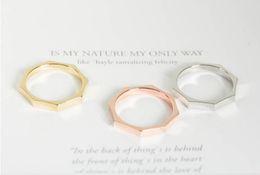 Fashion ht Sale Alloy Octagon Ring Новые стекируемые кольца Посеребренные кольца Личные гайки для женщин от Поставщики вынос мотоцикла