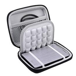 Wholesale bag external disk - Shock proof Hard Carrying Case Bag box for Portable External Hard Drive Disk HDD