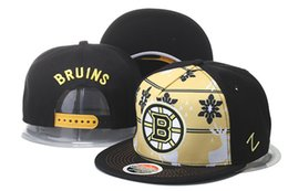 Wholesale Boston Stocks - New Caps 2016 Hockey Zephyr Snapback Caps Boston Black Color Hats Mix Match Order All Caps in stock Top Quality Snapback Hat