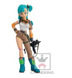 Wholesale New Dragon Ball Figures - Dragon Ball Z Super Bulma 20cm PVC Action Figure Model Toys Gifts New Arrived wholesale and free shipping