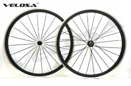 Wholesale Most Clincher - The most durable 38mm clincher road bike carbon alloy wheelset,700C road bike carbon wheel with alloy brake surface