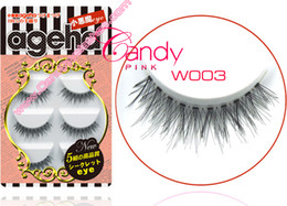 Wholesale Cheap Fake Lashes - W-003 5 pairs eyelashes private logo customize packaging box fake eyelashes cheap Lashes