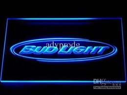 Wholesale Bud Light Led - DHL 7 Colors On off Switch Bud Light Bar Beer LED Neon Light Signs Wholeseller Dropship Free Shipping 001