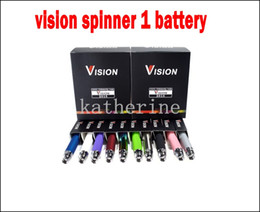 Wholesale Ego Ce6 Atomizer Kit - Ego Vision Spinner Battery 650mah 900mah 1100mah 1300mah for E Cigarette E-cig Kit Various colors for ce4 ce5 ce6 atomizer ego kits