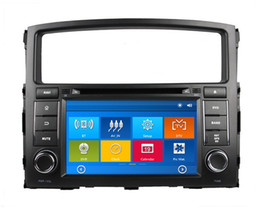 "Wholesale Dvd Car Mitsubishi Pajero - HD 2 din 7"" Car Radio Car DVD Player for Mitsubishi PAJERO V97 V93 With GPS Navigation Bluetooth IPOD TV SWC USB AUX IN + Can bus box"