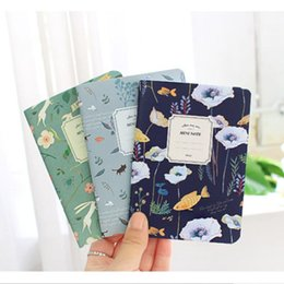 Wholesale Free Soft Books - Wholesale- Free Shipping Cute Mini Vintage Flower Notebook Journal Lovely Animal Diary Book Writing Pads For Kids School Supplies 1010