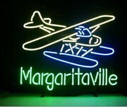 2019 signos margaritaville Margaritaville Airplane Neon Sign Artesanal Custom Custom Glass Tube Display Aerolíneas Publicidad Commercial Beer Bar Art Neon Signs 24
