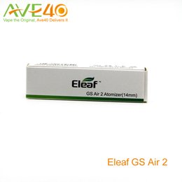Wholesale Gs Starter - Eleaf GS Air Tank GS Air2 Atomizer can handle up to 20W Simple use in the Vape World Starter Tank 100% Original