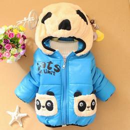 Scontato Cappotto Di Panda Del Bambino  e788c3e070d
