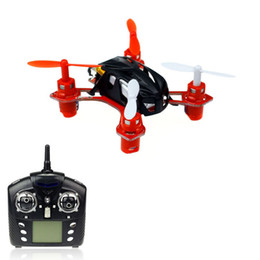 Wholesale Mini Wltoys - Wholesale-2015 New Arrival Wltoys V272 Mini 4CH LED Quadcopter 2.4G Remote Control 6-Axis Aircraft Helicopter Free Shipping&Whloesale