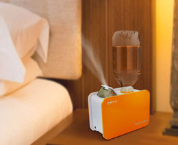 Wholesale auto water shut off - Air-O-Swiss Mini Water Bottle Auto Shut Off Ultrasonic Air Humidifier Steam Aroma Diffuser Mist Maker for Travel Office Purifier