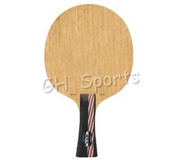 raquetes de tênis de mesa dupla felicidade Desconto Atacado - Lâmina de tênis de mesa Stiga Carbonix para raquete de pingue-pongue