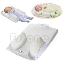 Wholesale Vented Sleep Positioner - Free Shipping Infant System Prevent Flat Head Ultimate Vent Baby Pillow Sleep Fixed Positioner free shipping