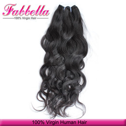 Wholesale Cheap Remy Hair Full Head - Perfect Hair Extensions Cost Rush Hair Prices Cheap Brazilian Hair Weave Bundles 14inch Hair 3 Bundles Full Head Natural Wave Style