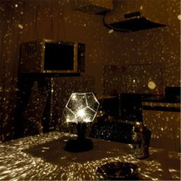Wholesale Night Bulbs - Constellation Projector Star Projector Lamp Night Light Celestial Star Projector Night Light DIY Romantic Lamp Party Christmas Stage Light