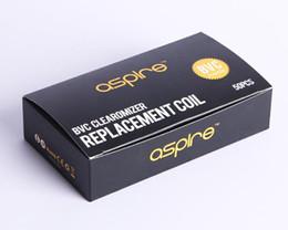 Deutschland 50pcs Aspire BVC Spulen für Aspire CE5 CE5-S ET ET-S Clearomizer BDC aktualisiert Zerstäuber Kern für kleine Großhandelsgeschäft Versorgung