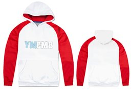 Wholesale Hoodies Ymcmb - T75097 free shipping us size ymcmb Mens Hip Hop Hoodies Fashion Sweatshirts high quality o-neck coat Clothes
