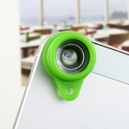 Wholesale Lomo Wide - Wholesale-12 styles of mini effects Jelly Lens Fish Eye Wide Angle for iPhone Cell Phone Digital Lomo Camera phone len